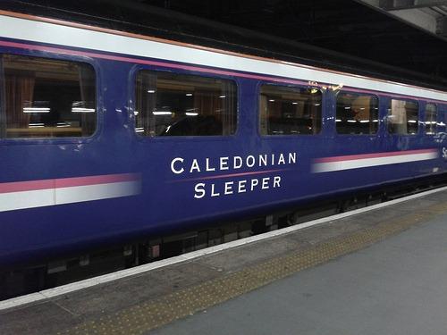 Caledonian Sleeper at Euston