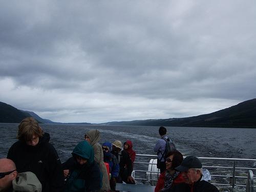 Boat trip on Loch Ness