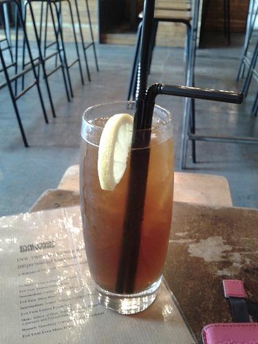 Beer cocktail in Brewdog