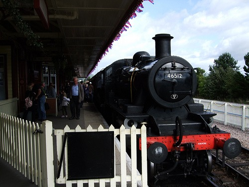 Train at Aviemore