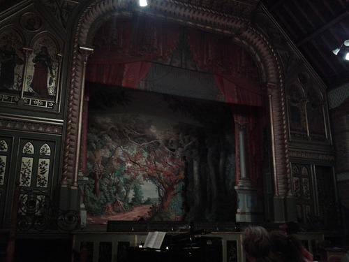 Normansfield Theatre - proscenium arch