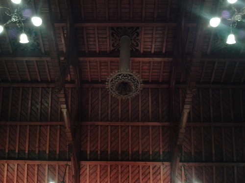 Normansfield Theatre - ceiling
