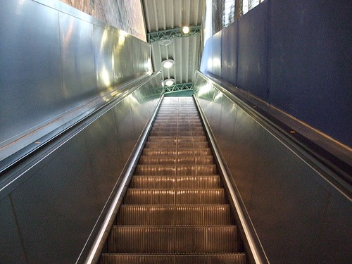 New escalator at Greenford tube station