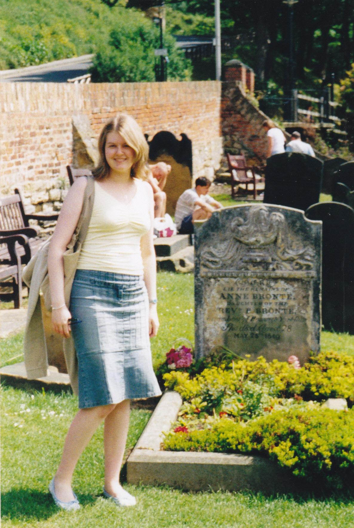 Anne Brontë's grave