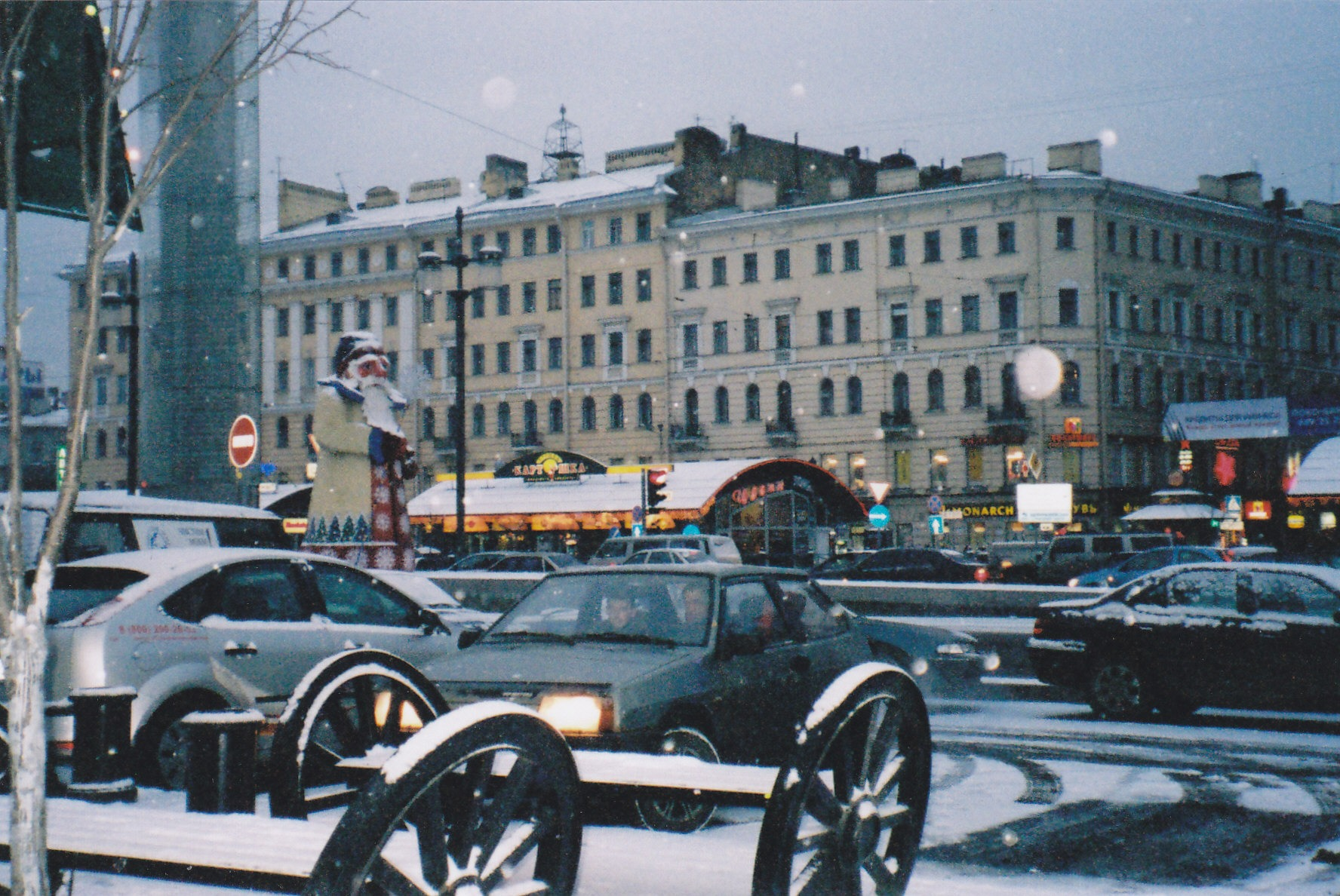 Sennaya Ploshchad (Haymarket Square), made famous by Crime and Punishment