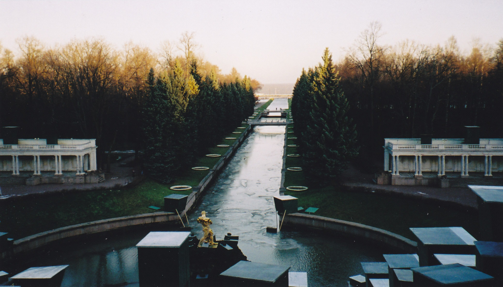 The fountains at Peterhof