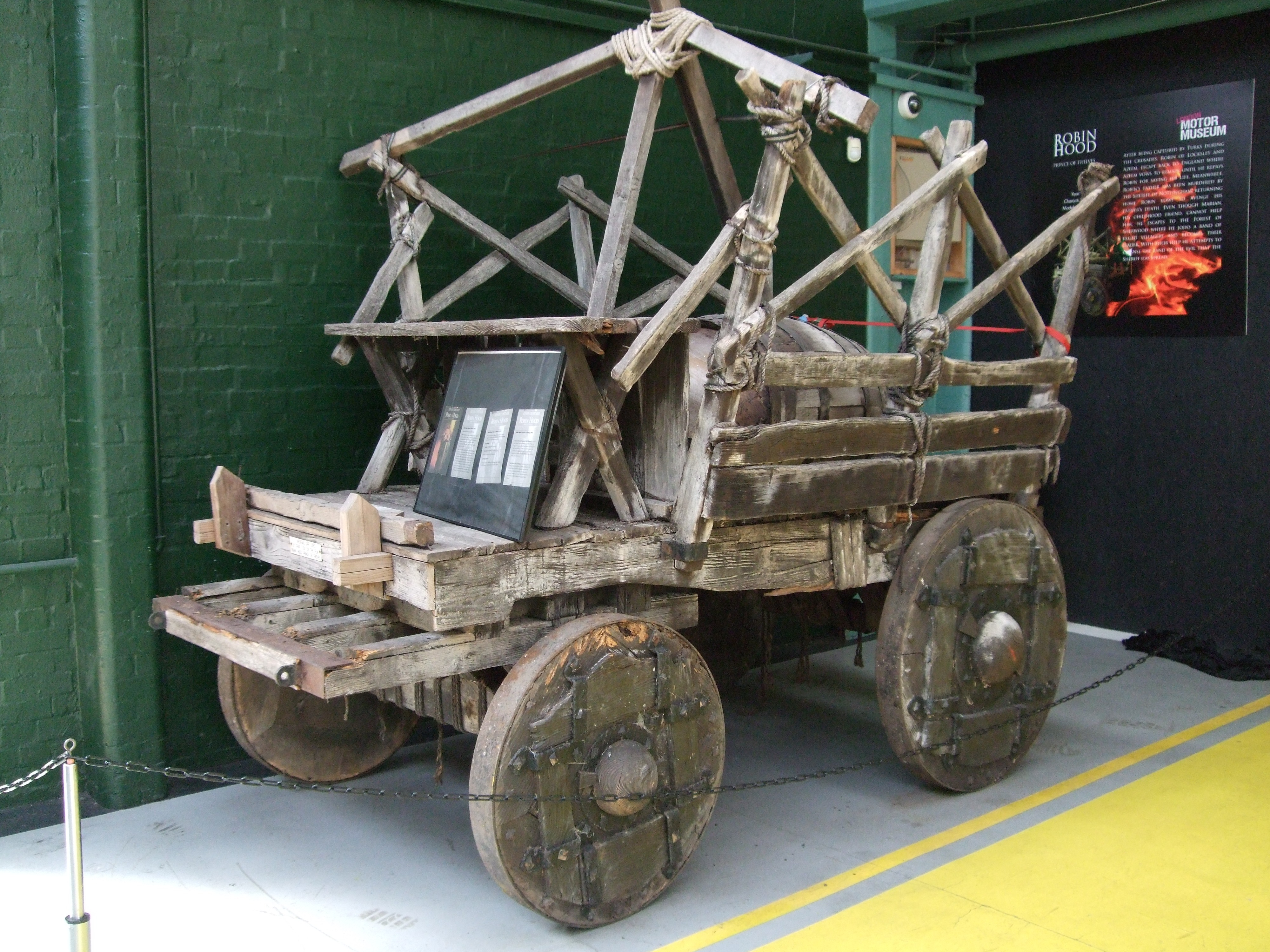 Robin Hood medieval wagon