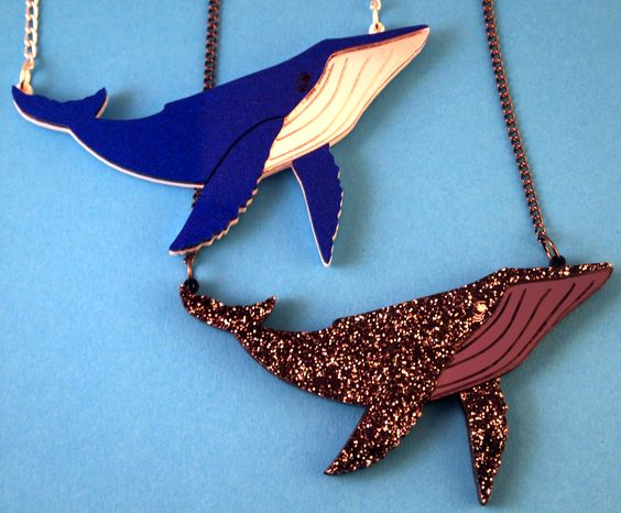 Galactic Whale Necklace
