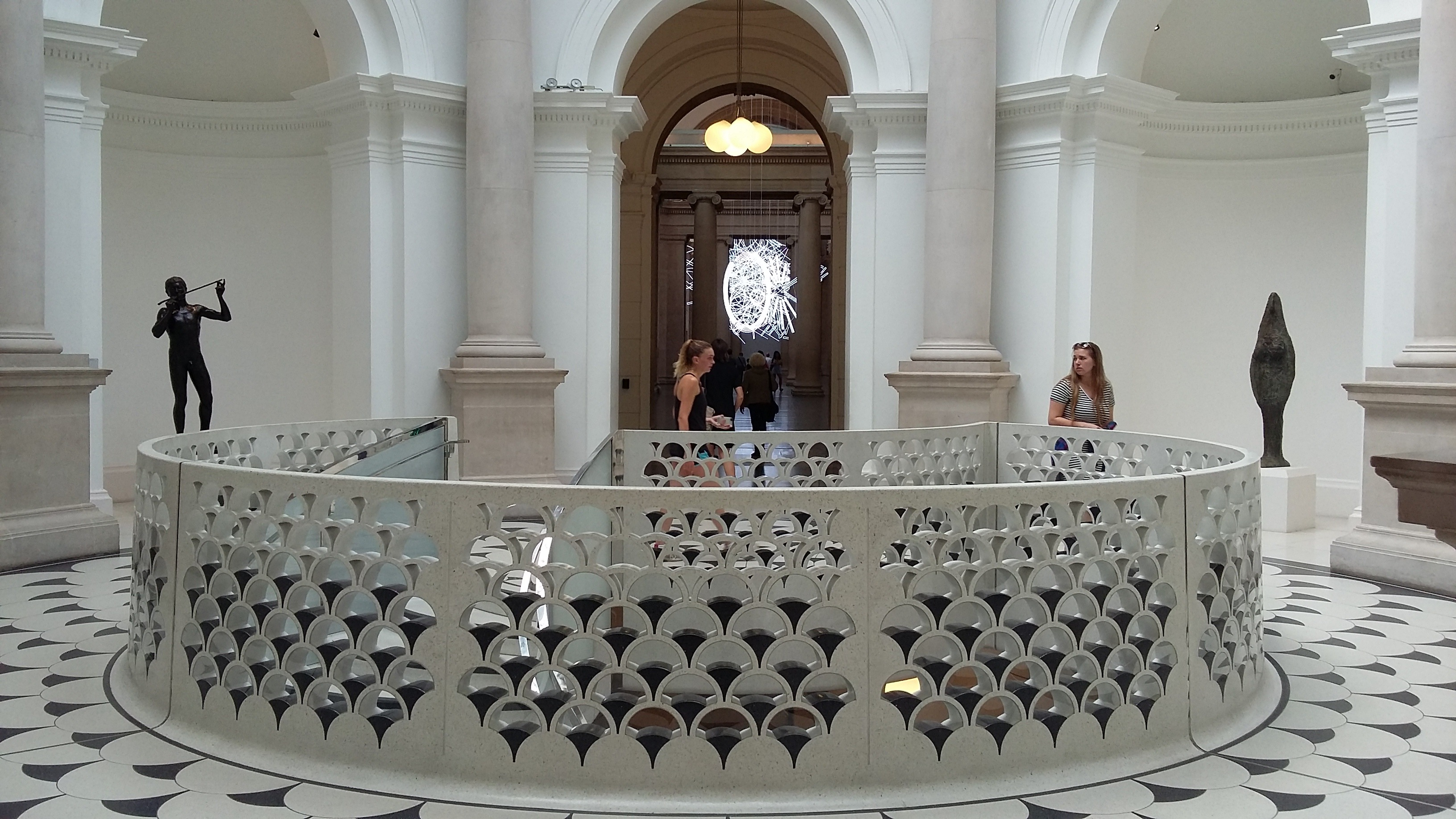 Inside Tate Britain