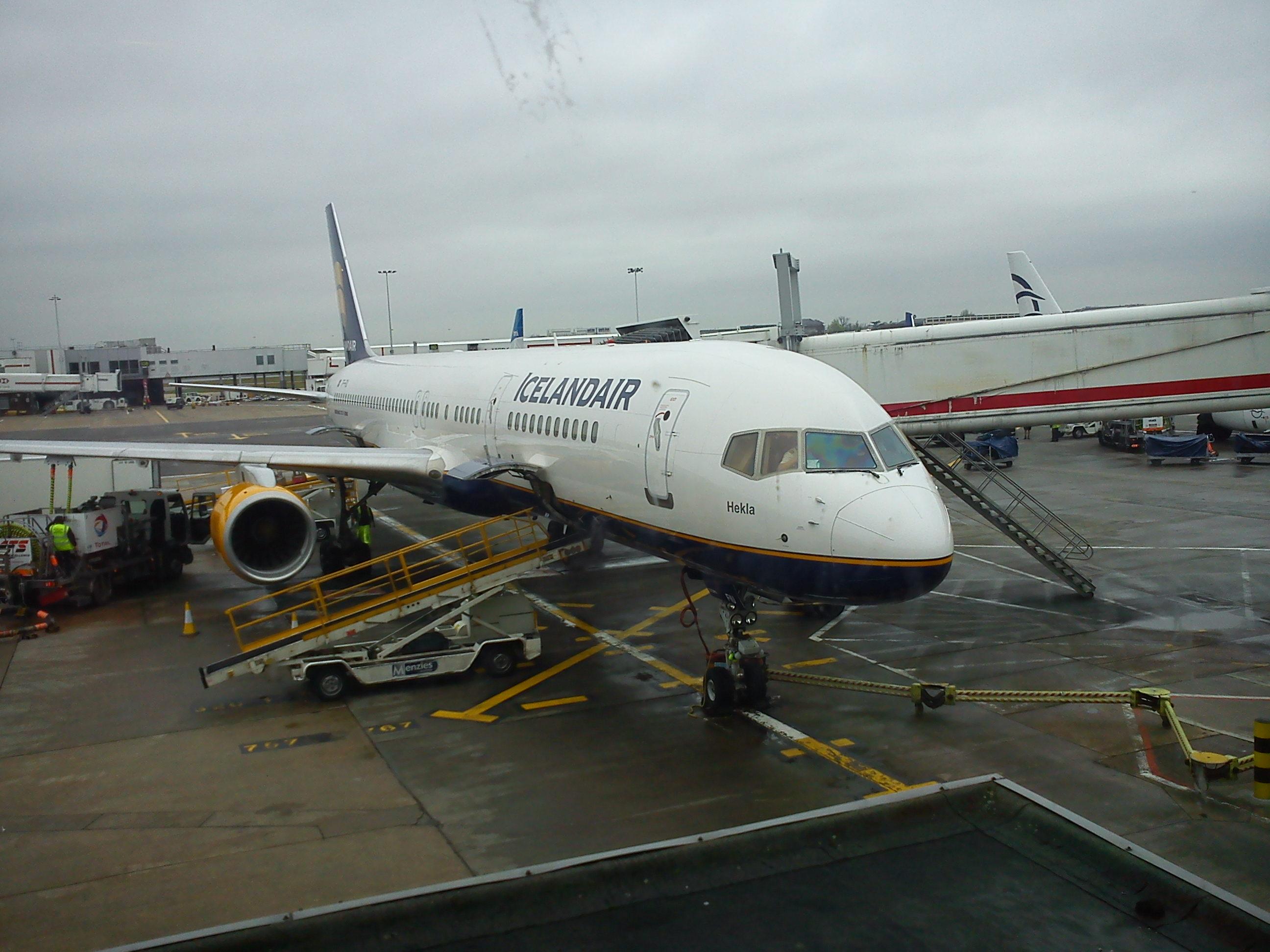 My Icelandair plane