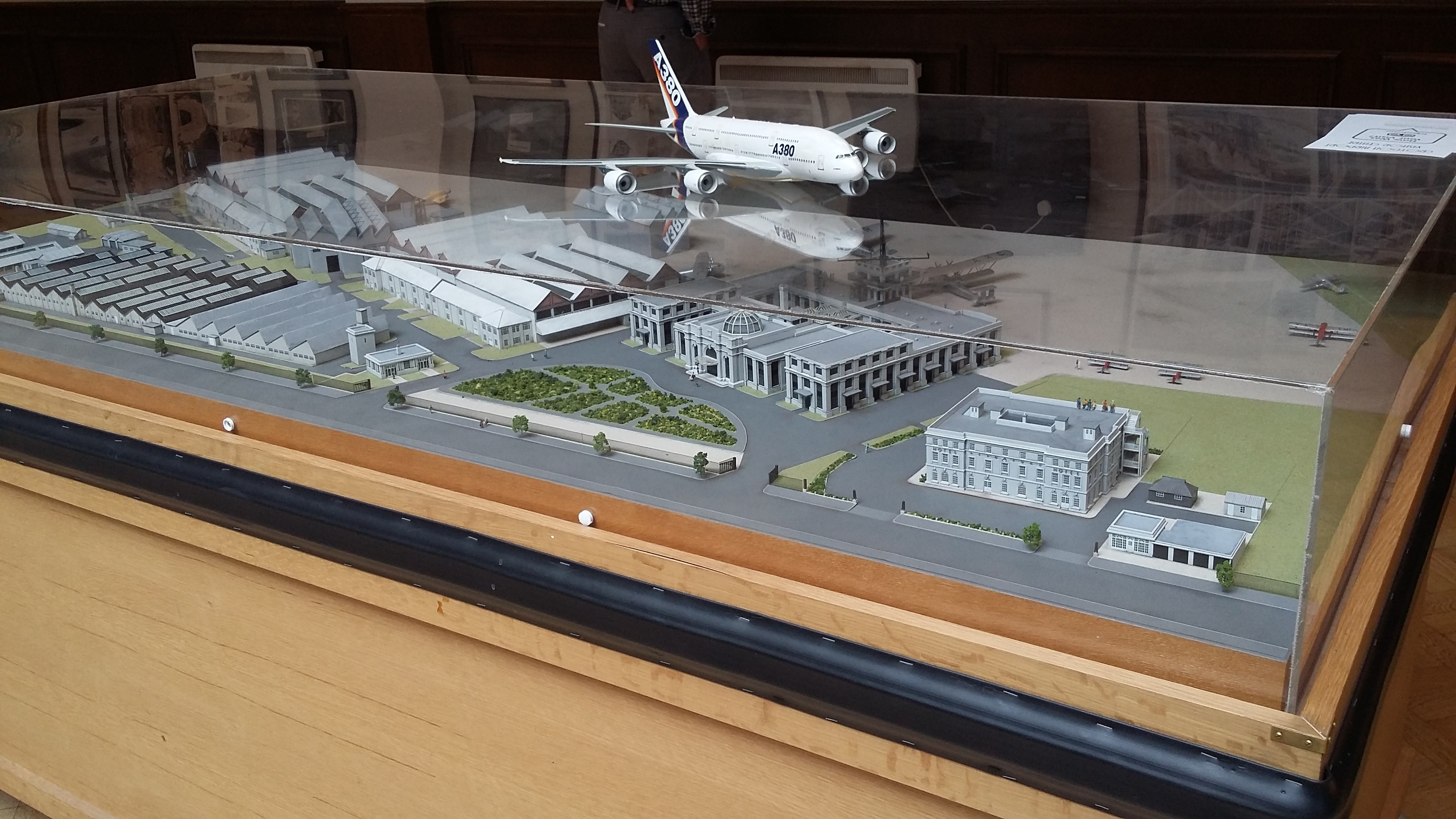 Model of the airport