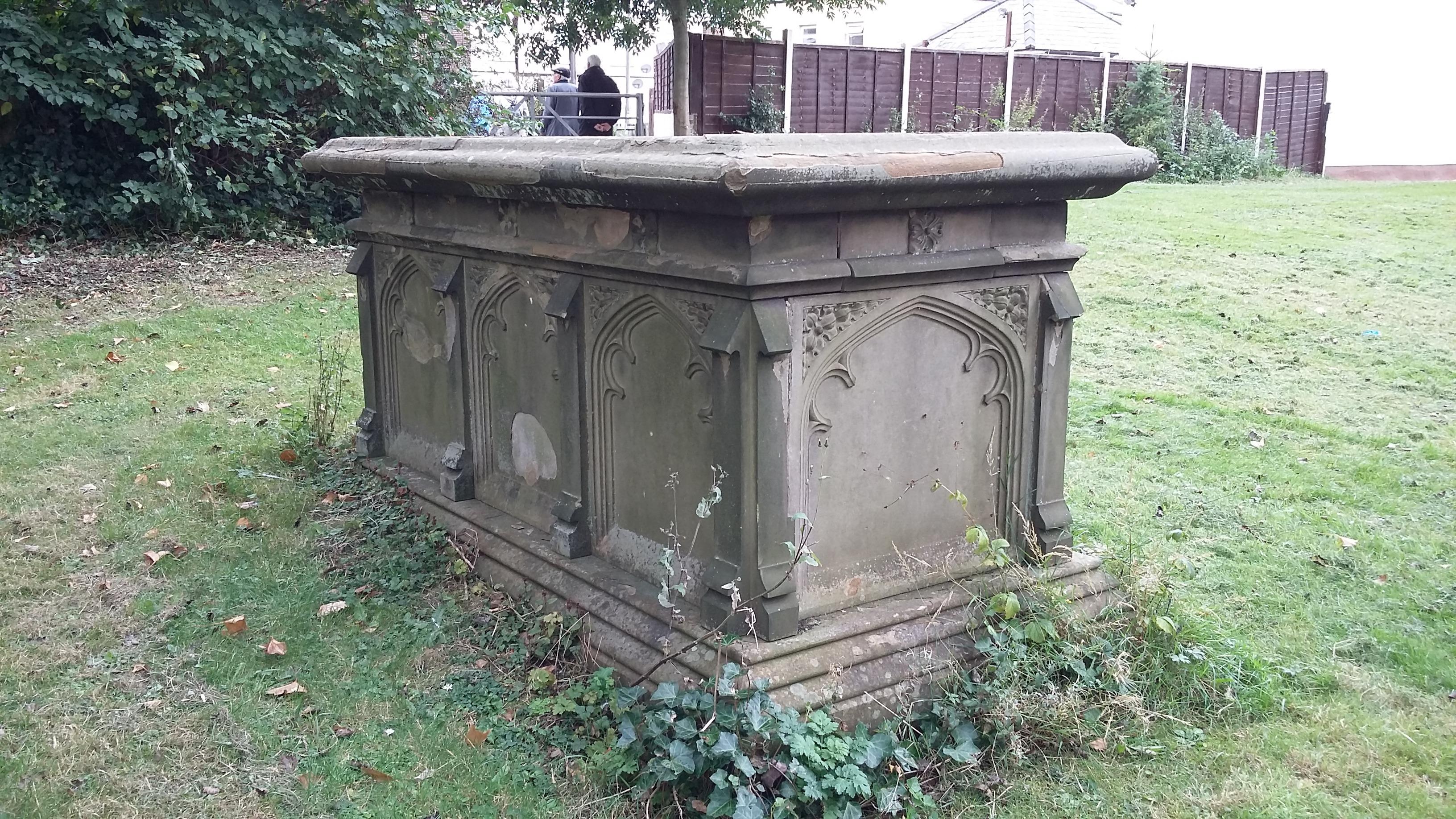 Nicholas Wood's grave