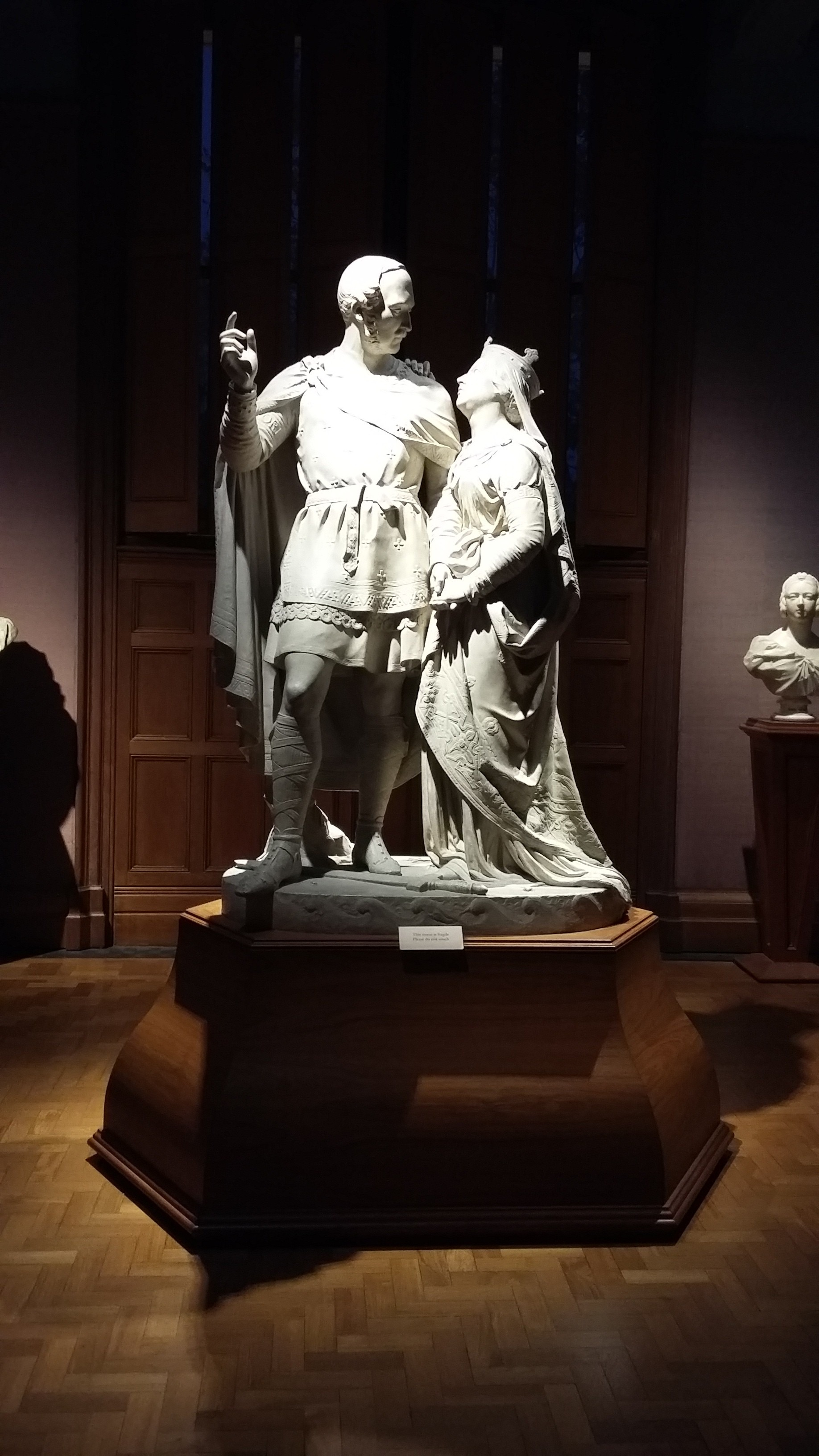 Statue of Victoria and Albert