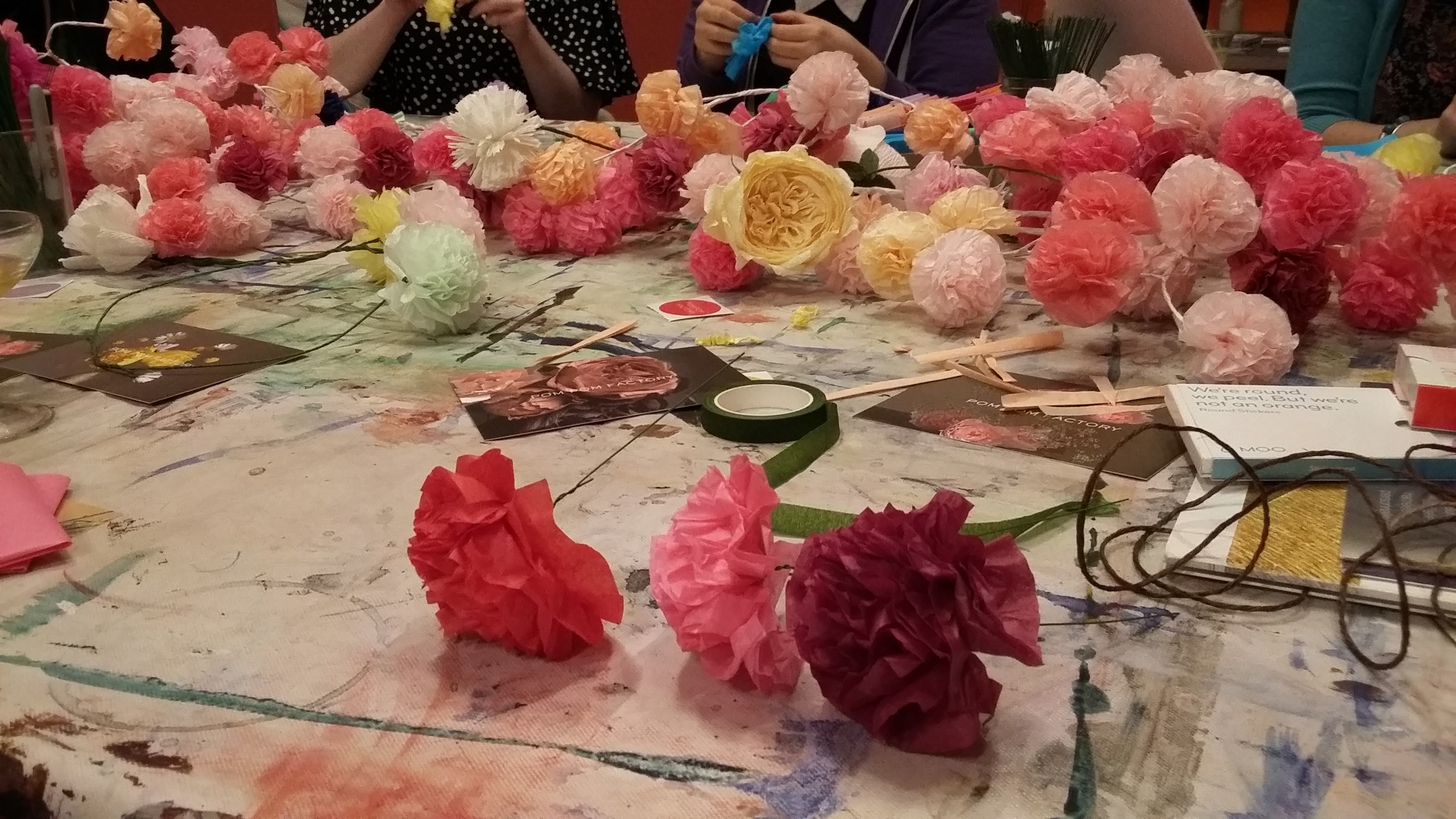 pom pom table