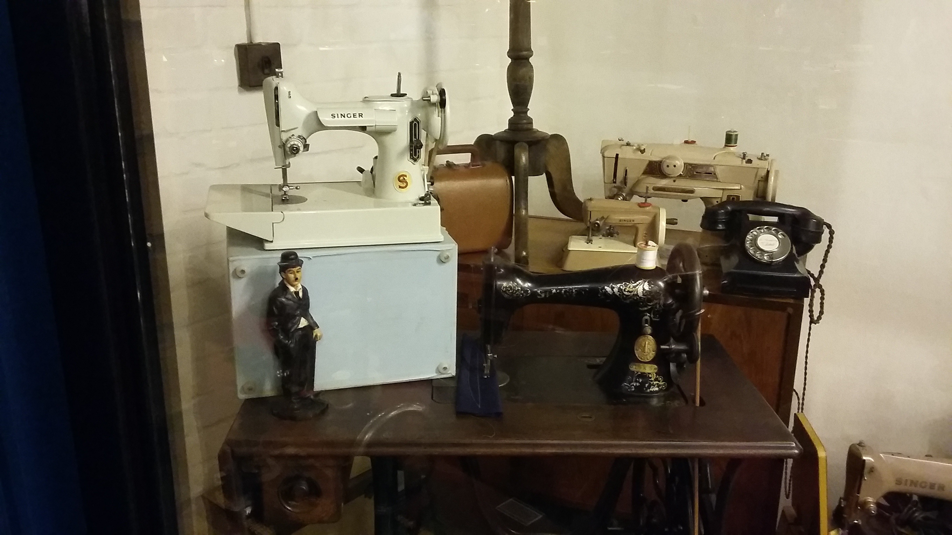 Charlie Chaplin's mother's sewing machine