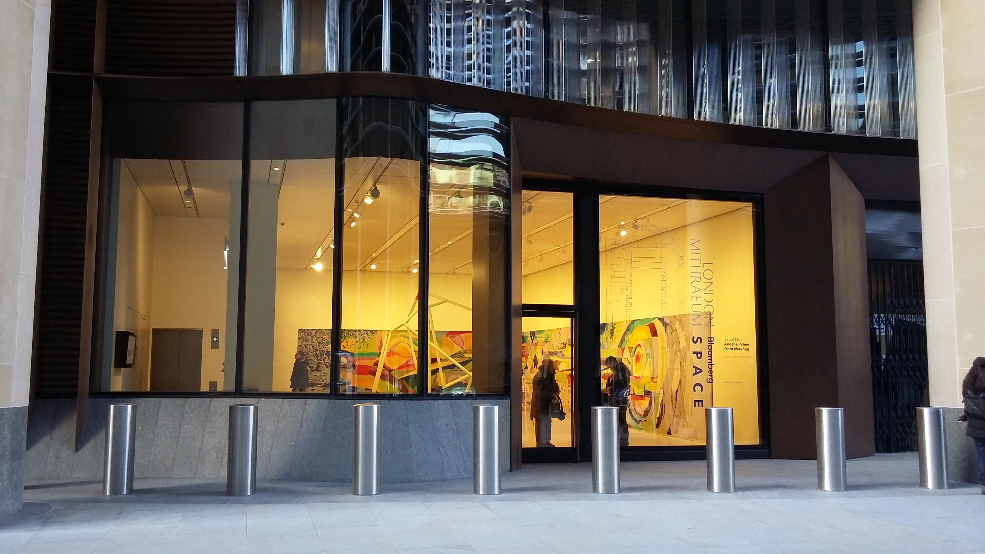 Bloomberg SPACE Entrance