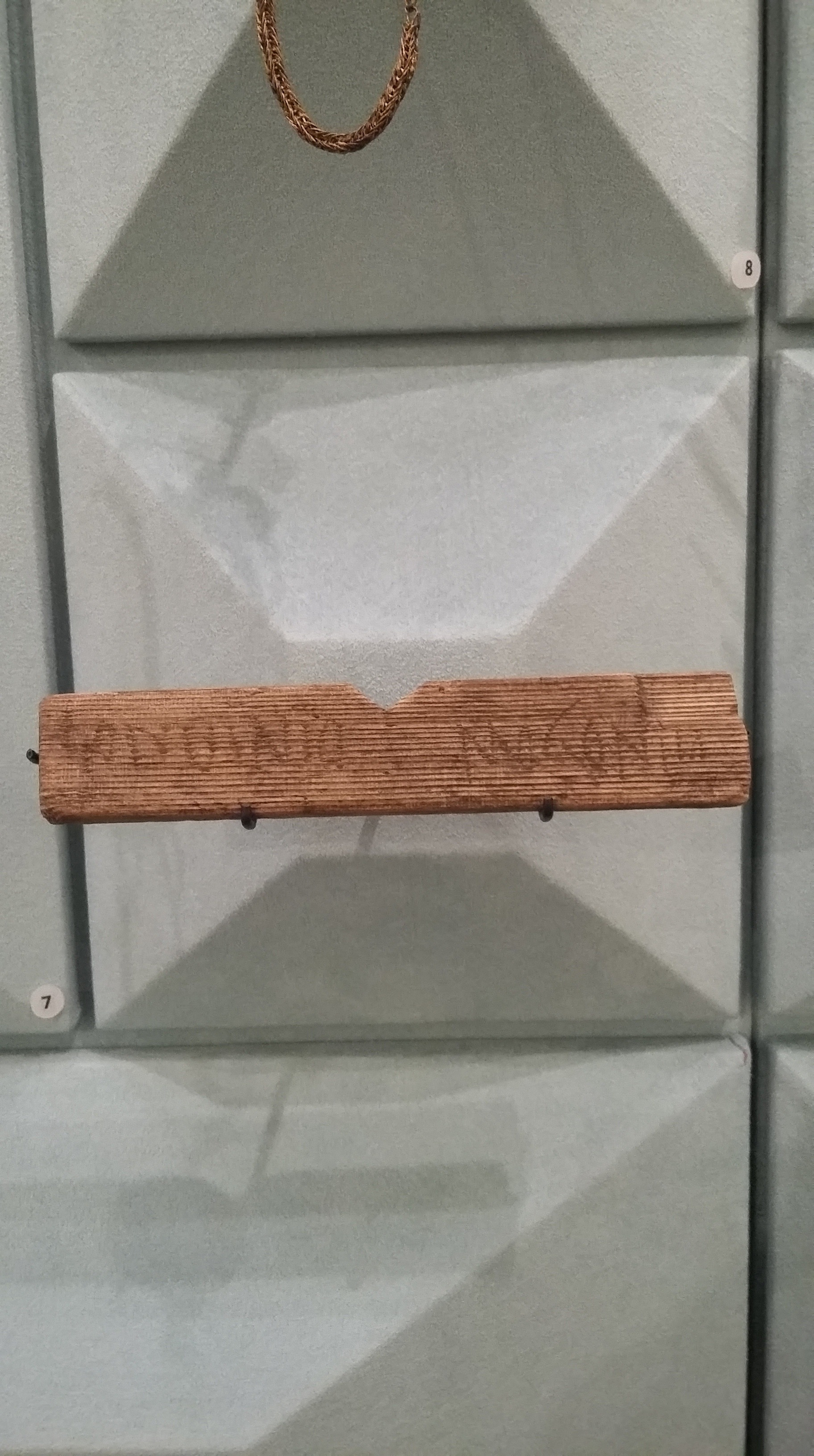 Writing tablet featuring the first recorded mention of 'Londinium'