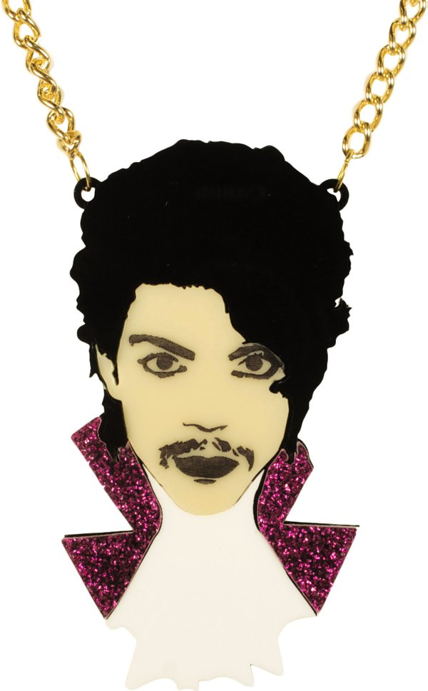 Prince Purple Rain Necklace
