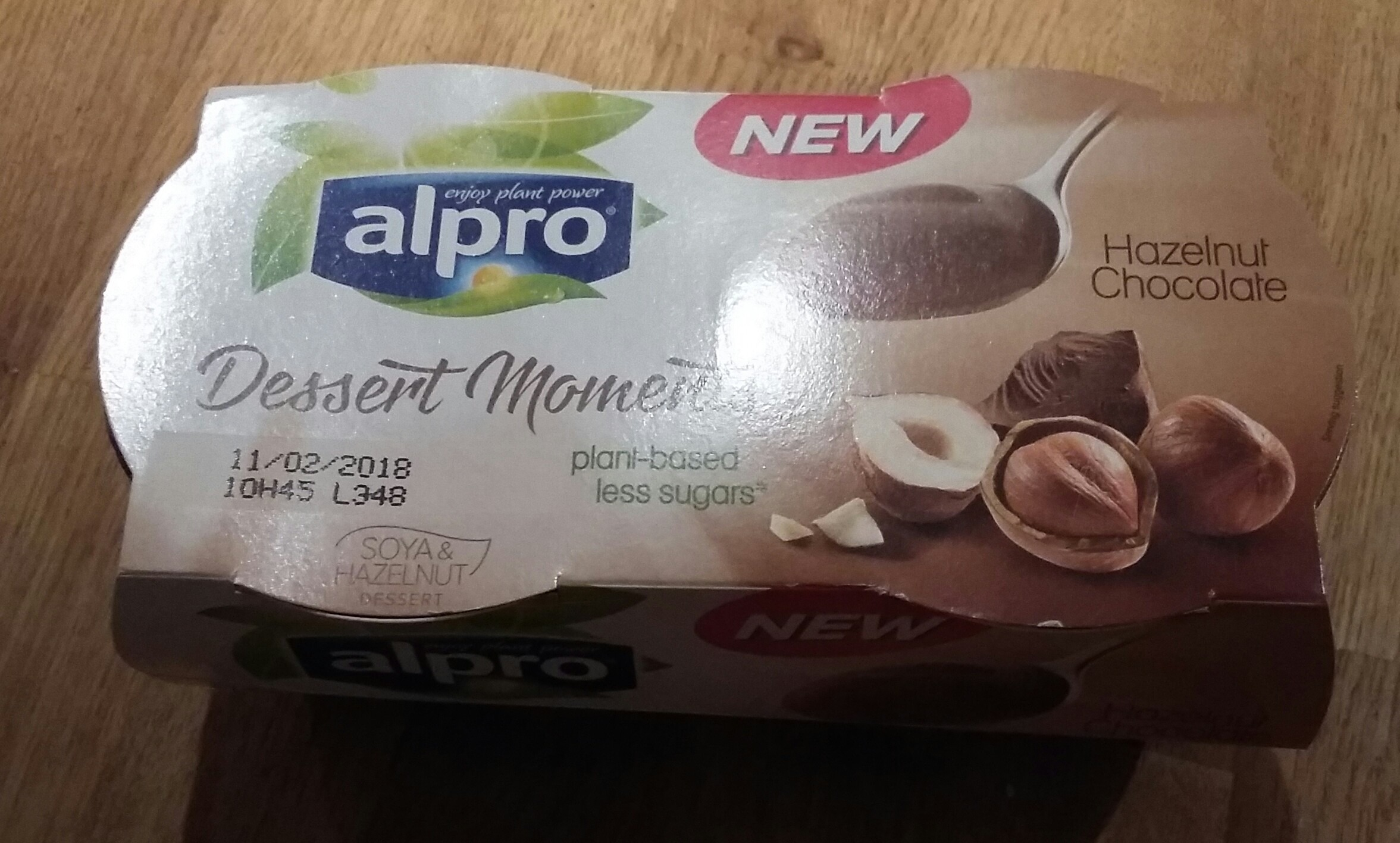 Alpro Chocolate & Hazelnut Desserts