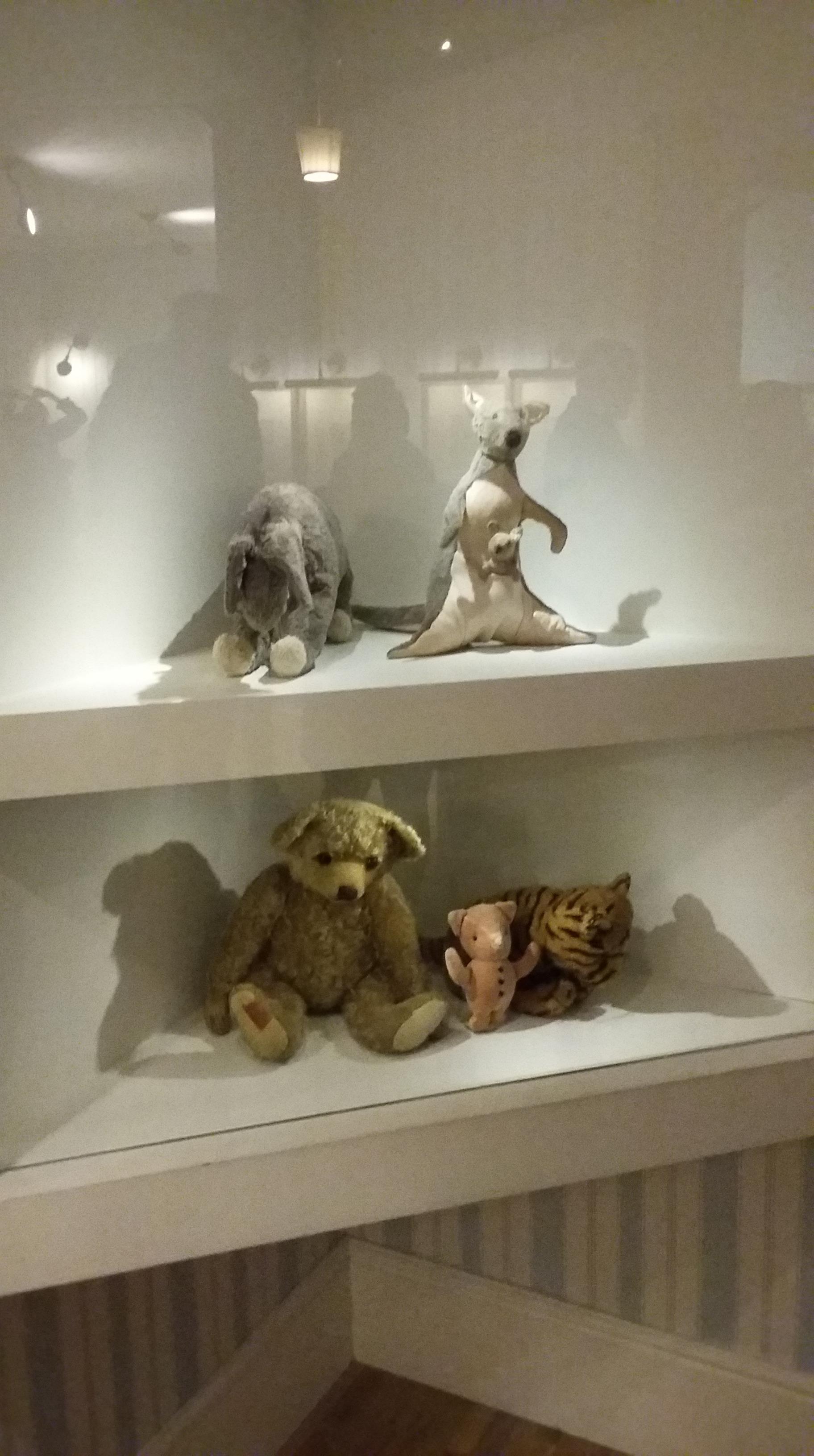 Pooh-themed toys