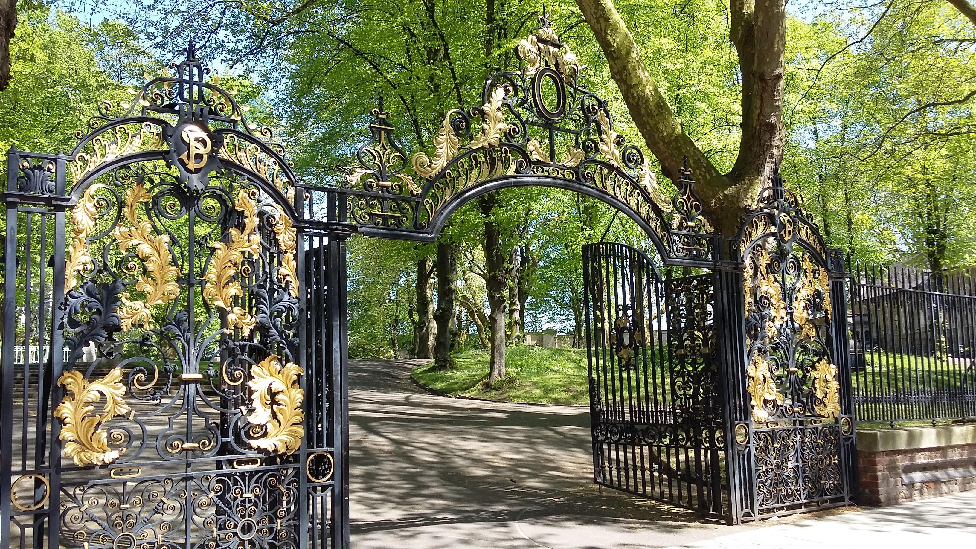 churchyard gateway