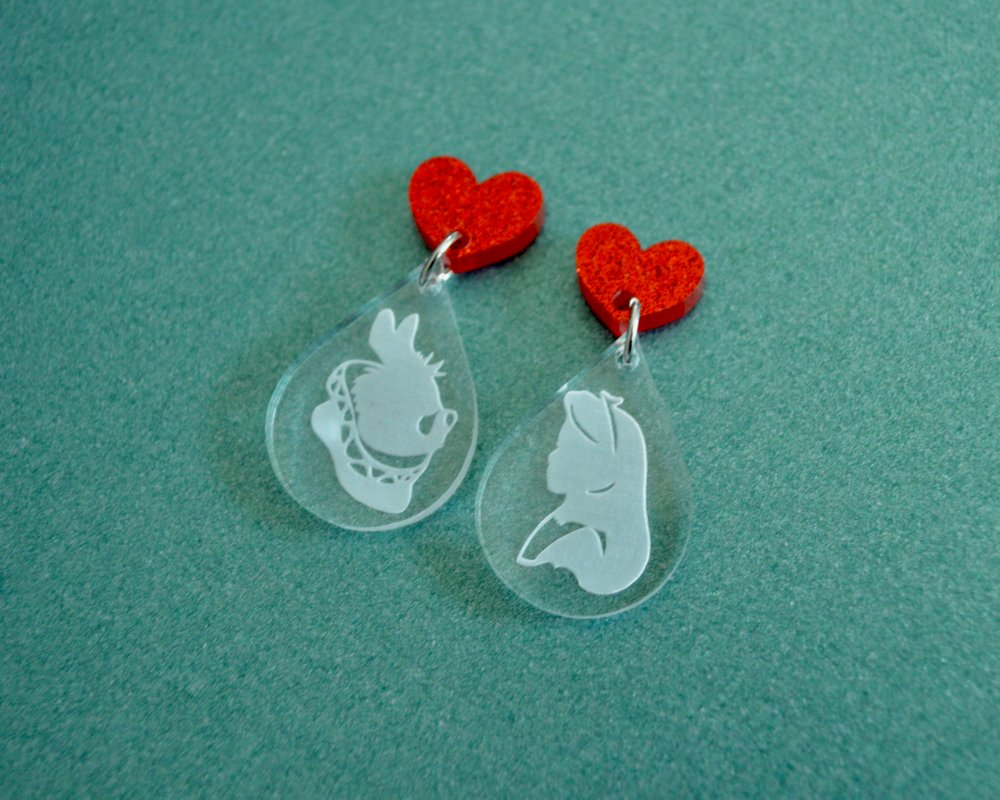 Alice in Wonderland dangles