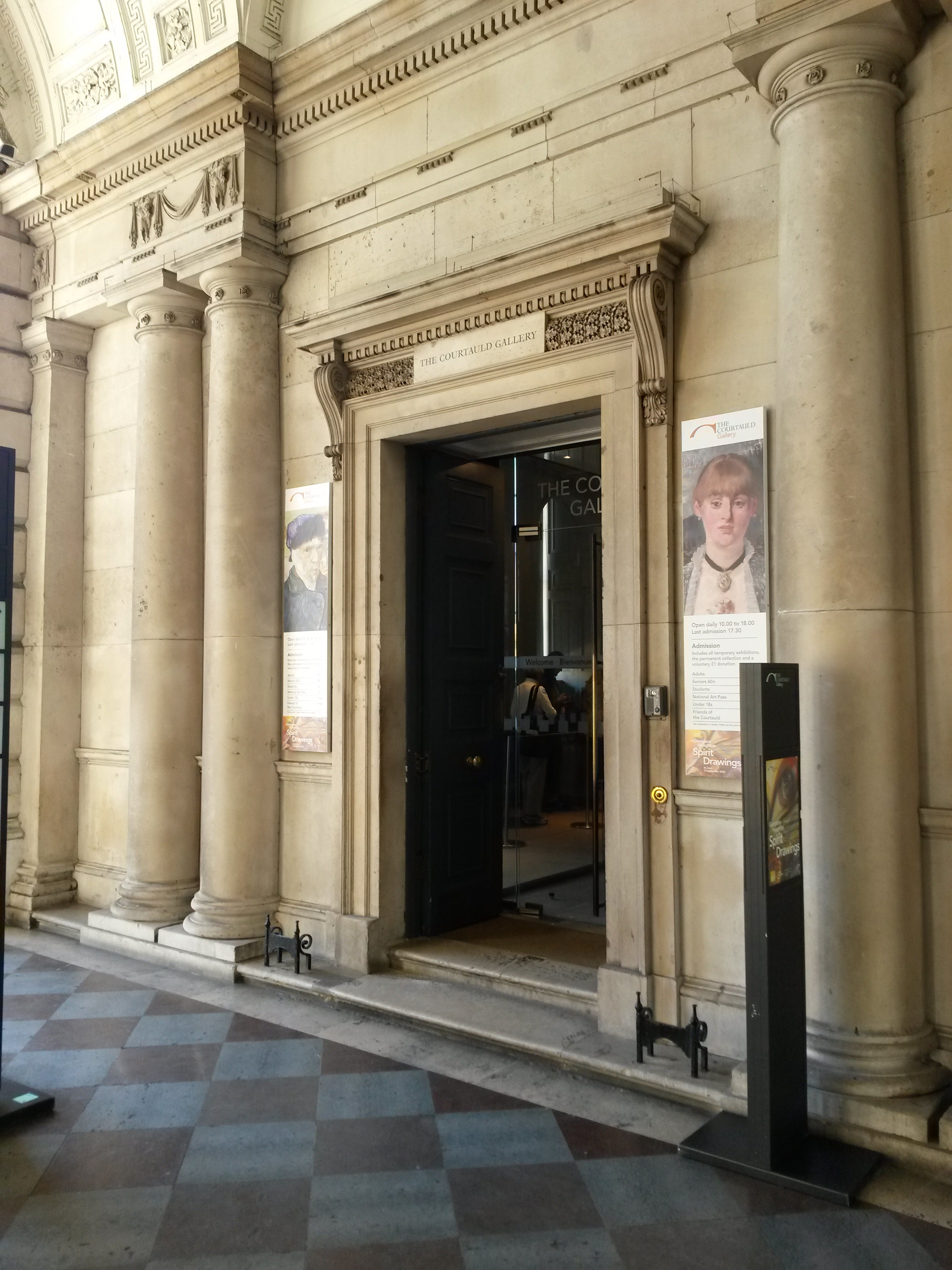 Courtauld Gallery Entrance