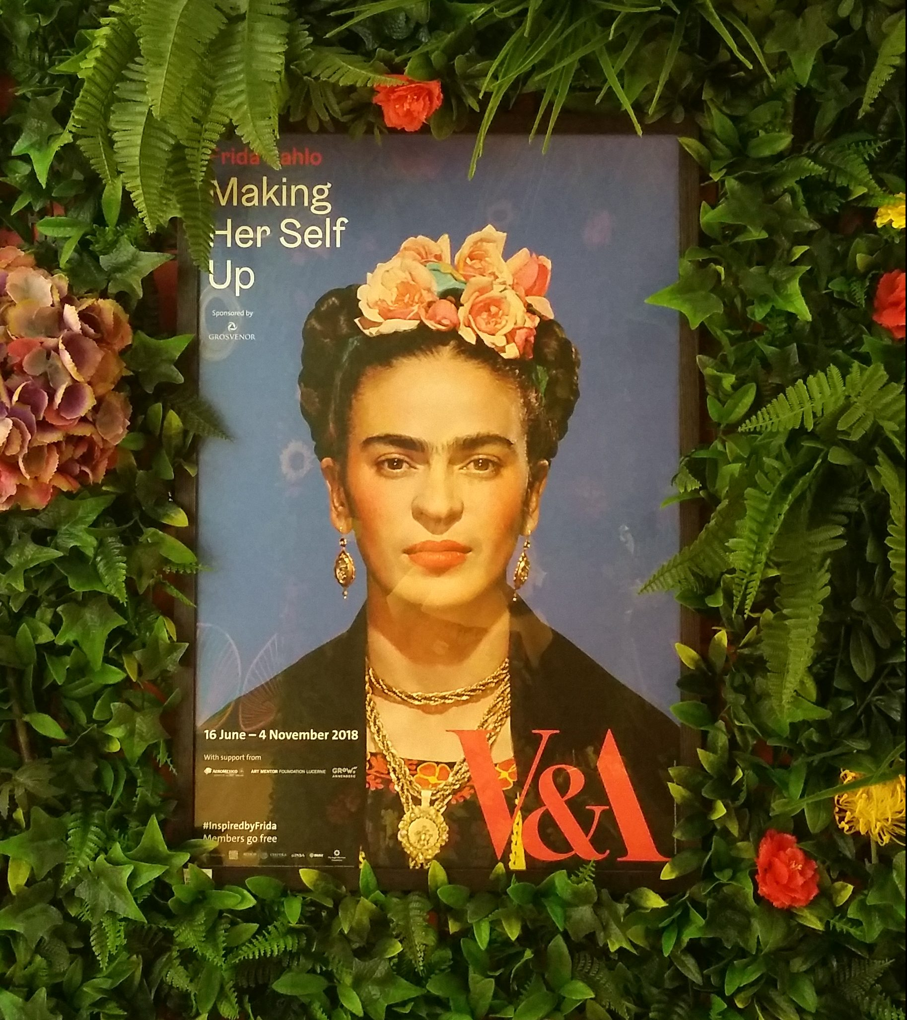 Frida exhibition