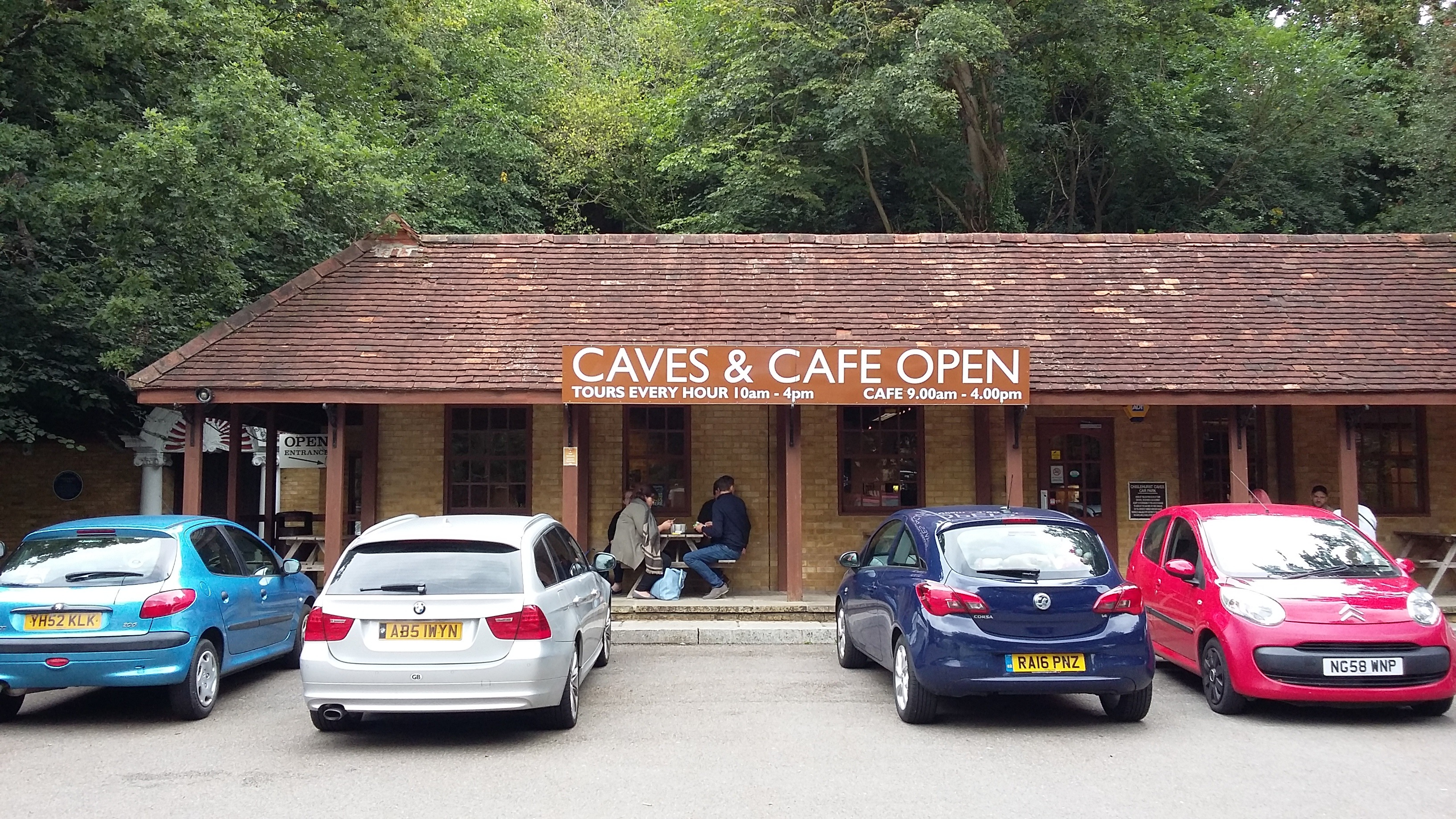 Chislehurst Caves Entrance
