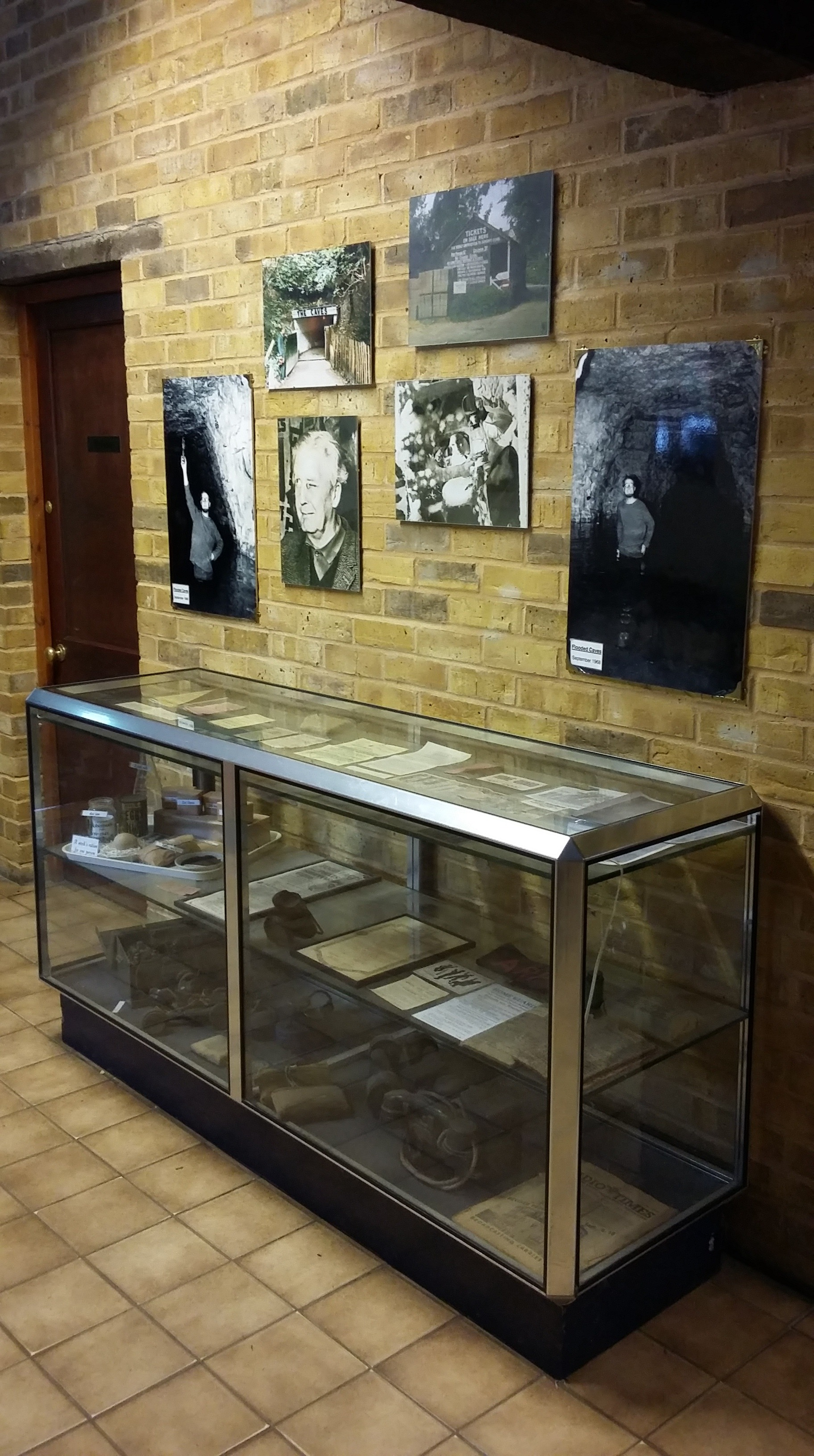 Artefacts on display