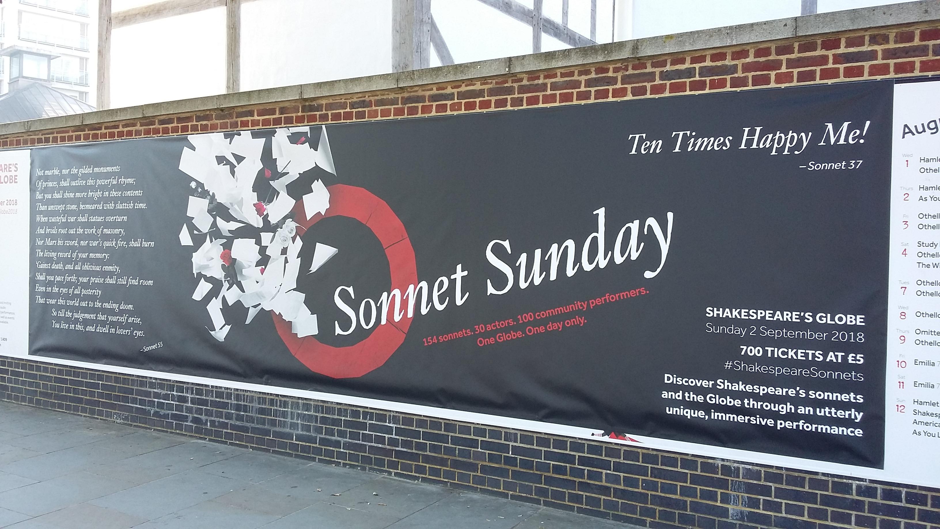 Sonnet Sunday