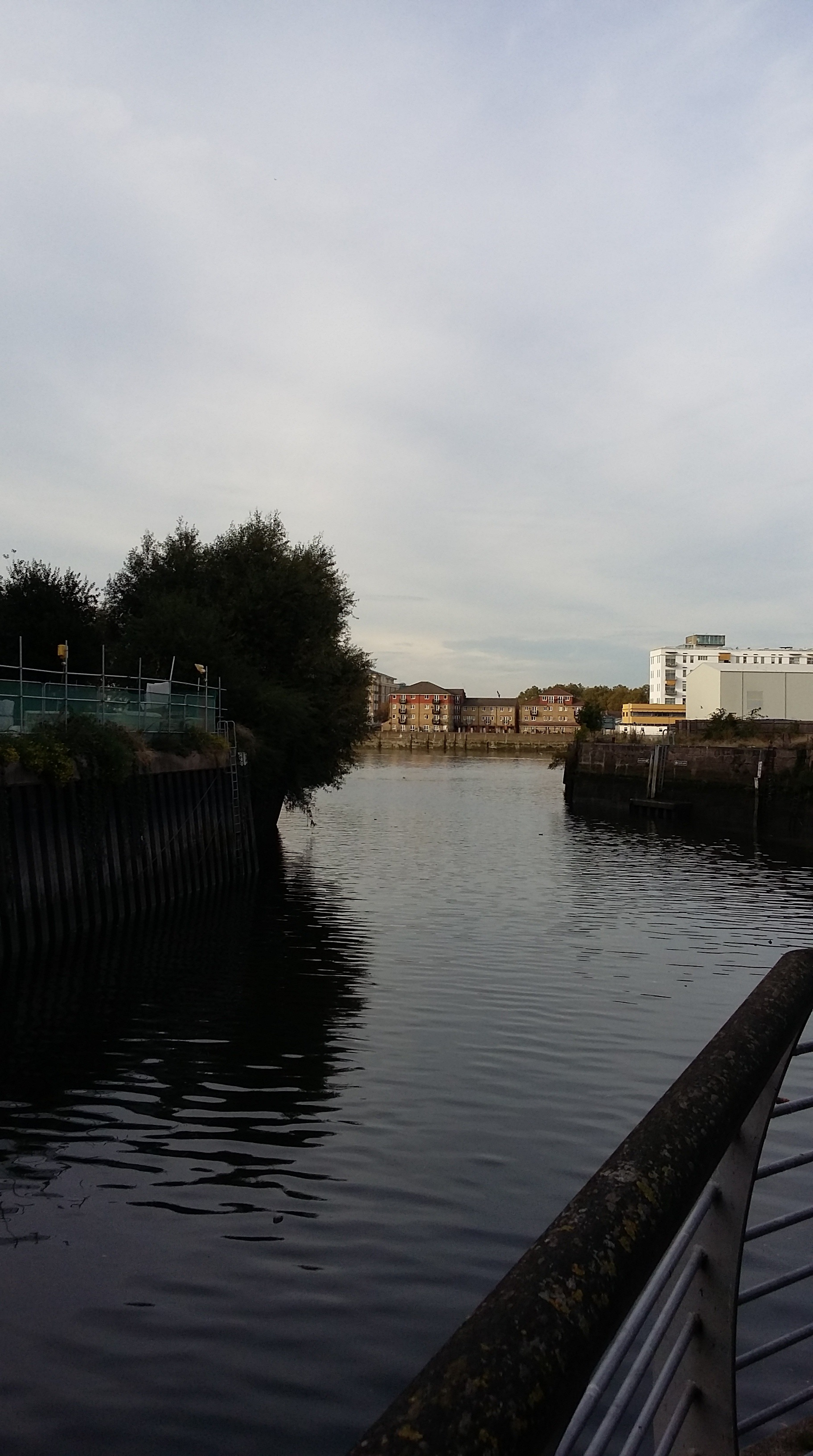 The mouth of the Wandle and the Fulham shore beyond