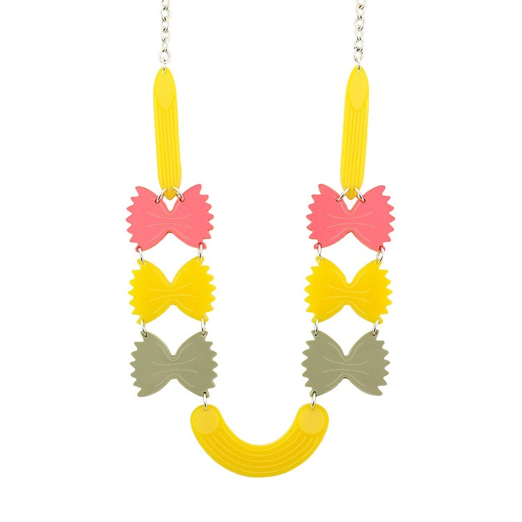 Pasta Statement Necklace