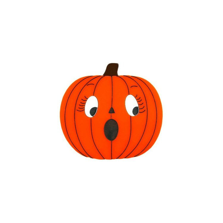 Scared Pumpkin Brooch