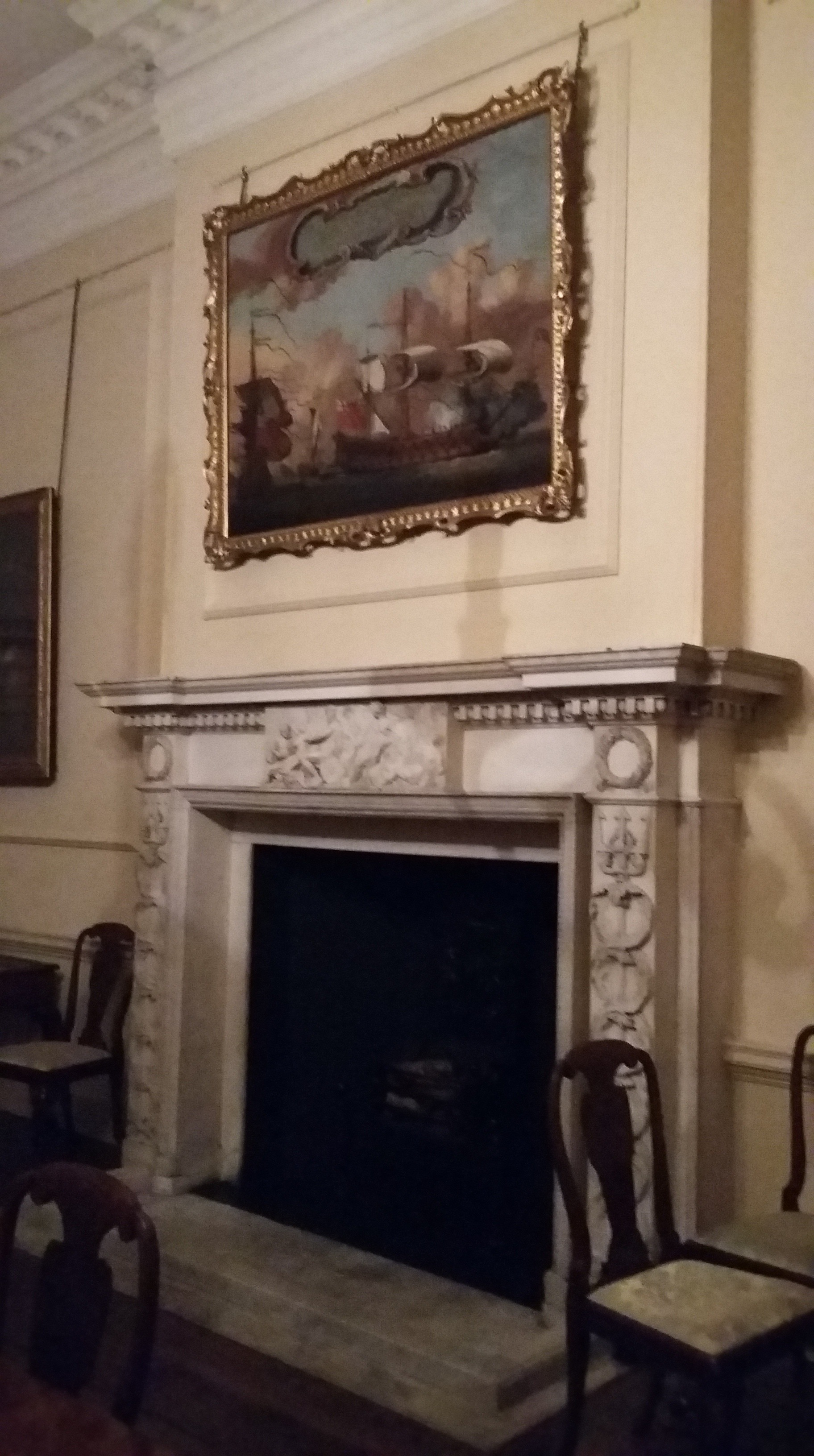 Inside the Admiral's House