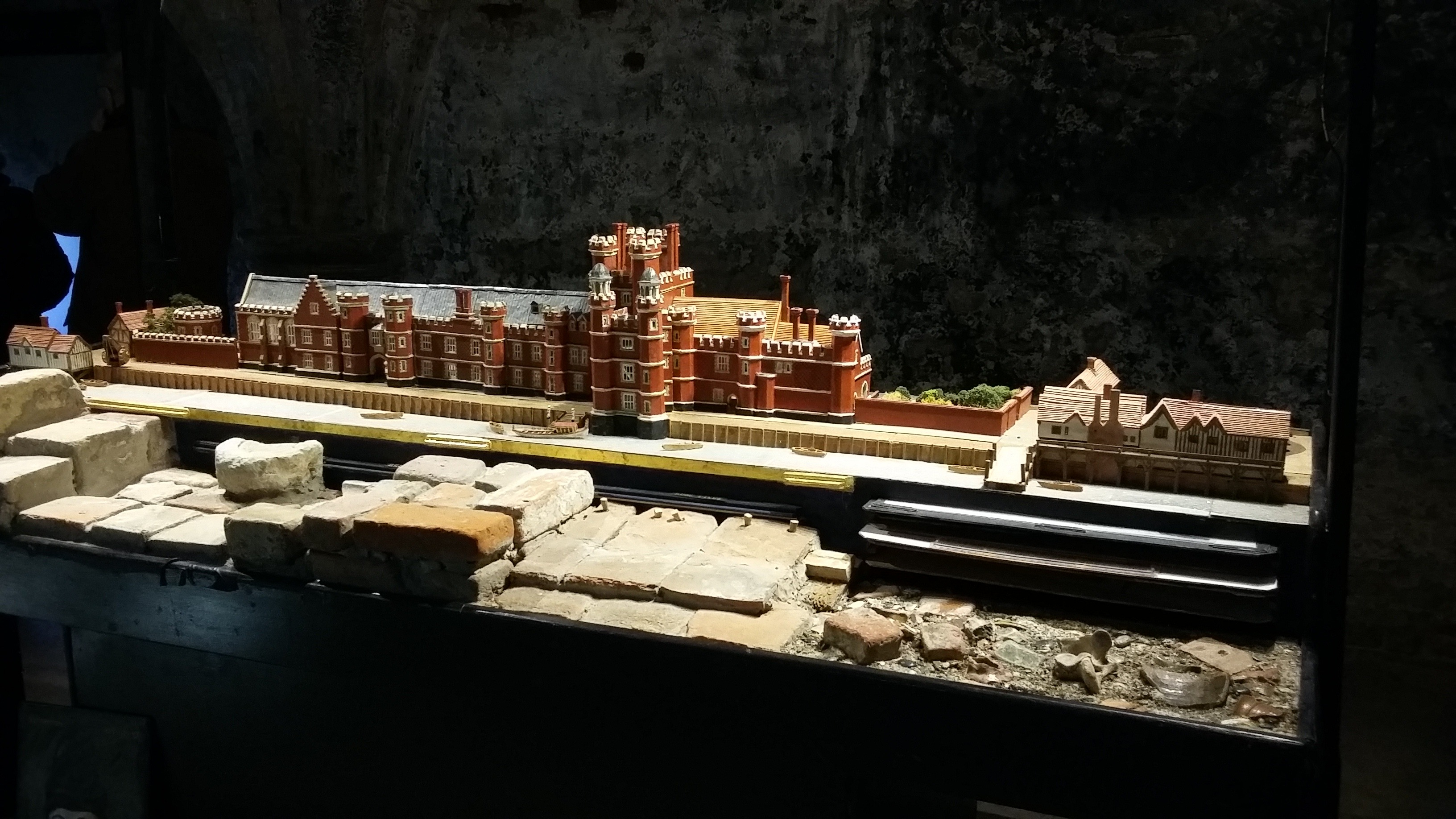 Model of Greenwich palace