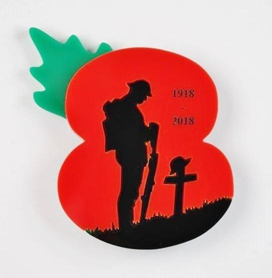 Lone Soldier Poppy Appeal Brooch