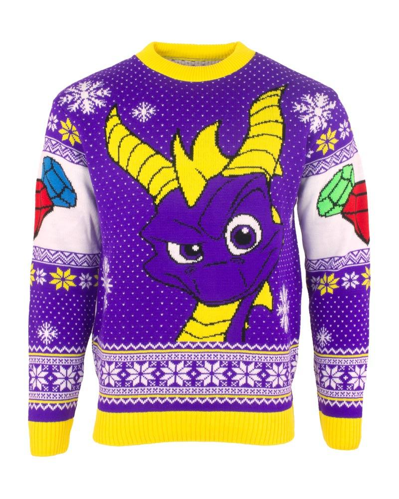 Spyro the Dragon Christmas Jumper