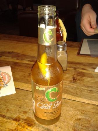 Saturday night in the pub