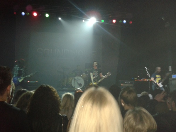 Soundwave music competition at the O2 Academy, Newcastle
