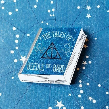 Tales of Beedle the Bard book brooch