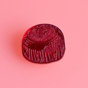 tunnocks teacake brooch