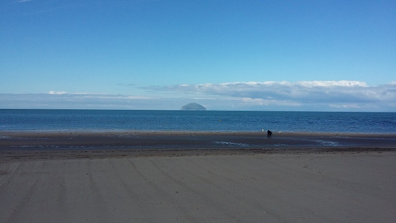 View of Ailsa Craig