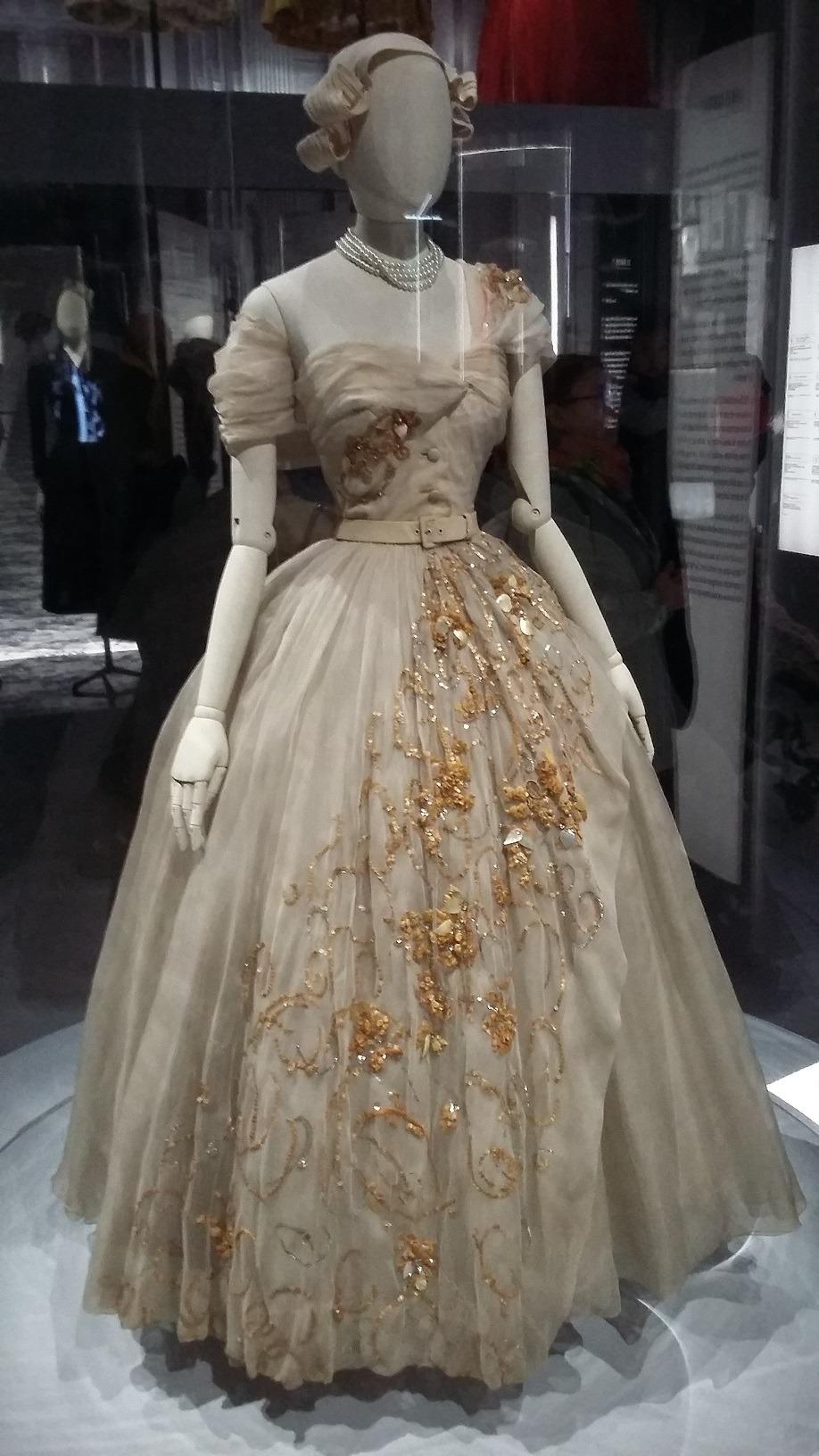 Dior ball dress