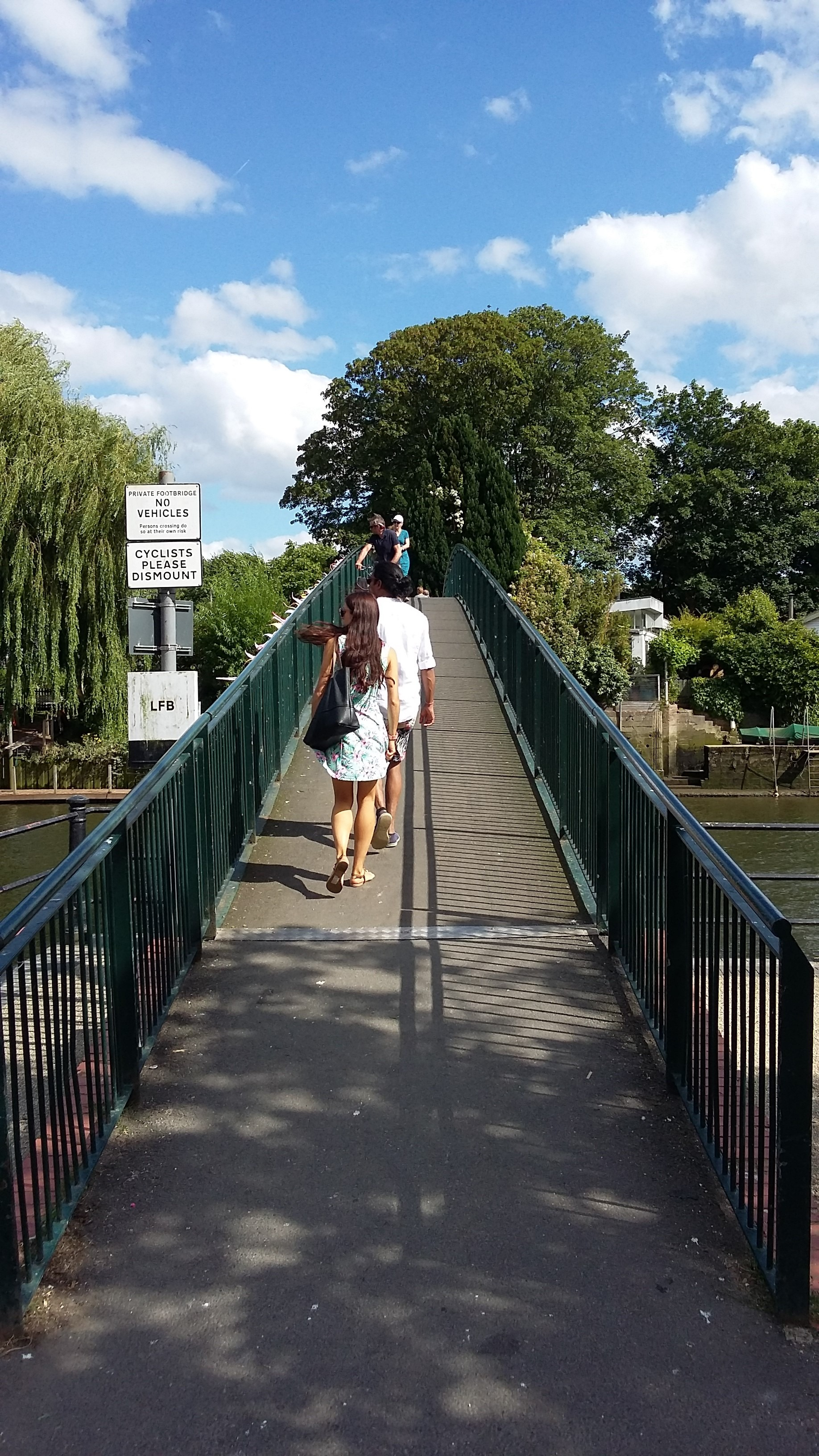 Bridge to Eel Pie Island