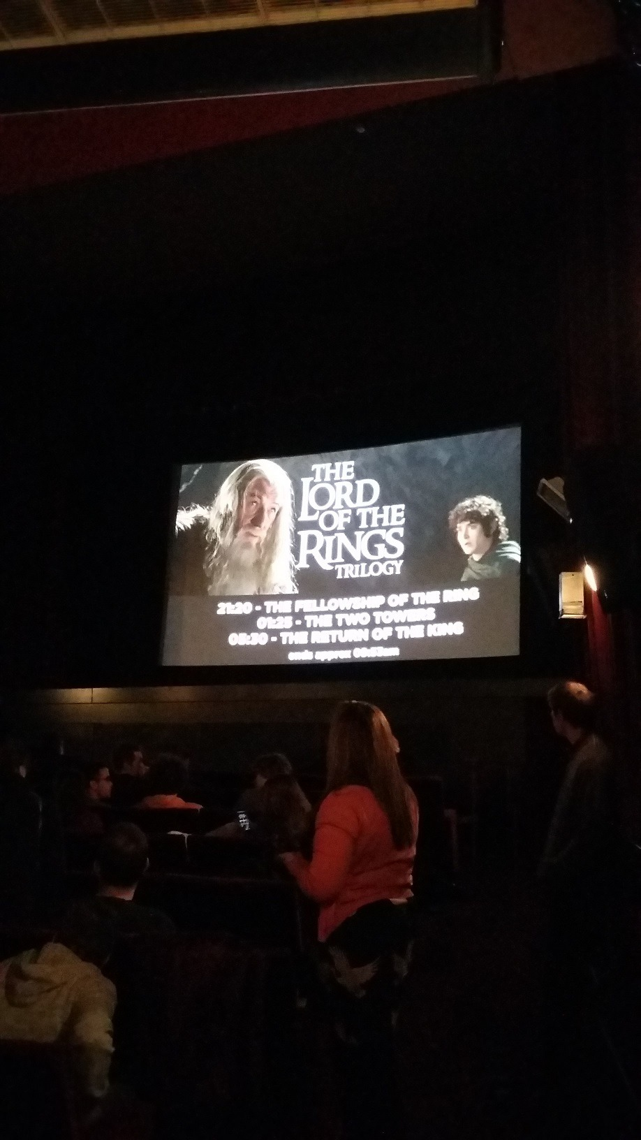 Lord of the Rings screening