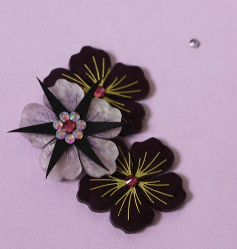 blossoming brooch