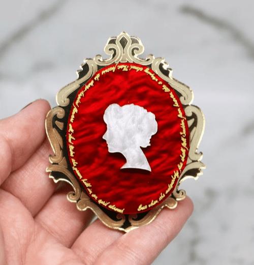 cameo brooch