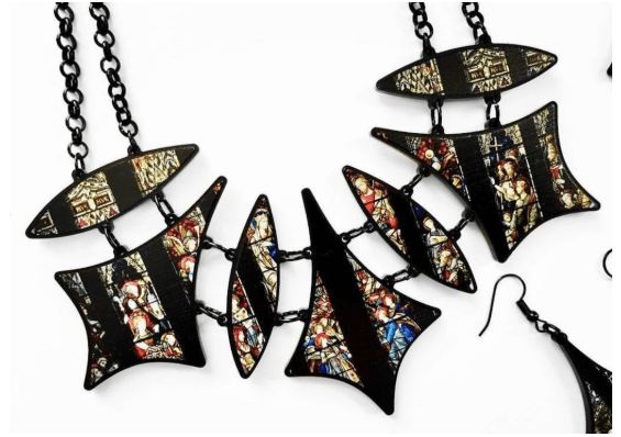 Cathedral statement necklace