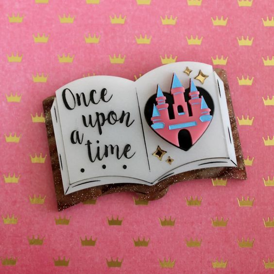 Once Upon a Time brooch